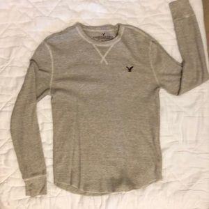 American Eagle thermal long sleeve shirt